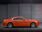 Оранжевый Rolls-Royce Wraith 2015 Фото 03