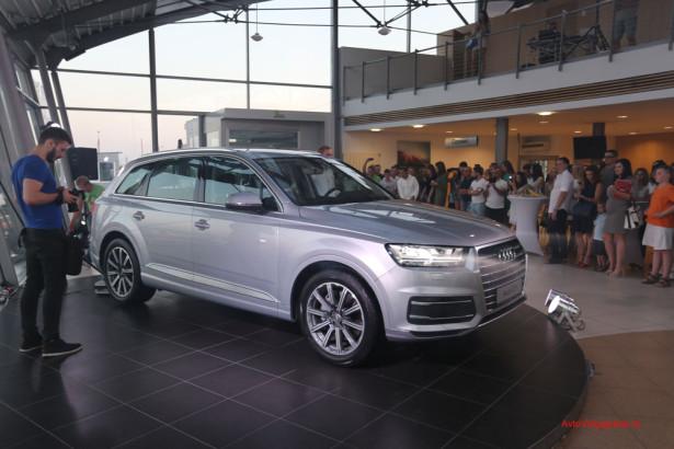 Презентация Audi Q7 2015 в Волгограде Фото 19