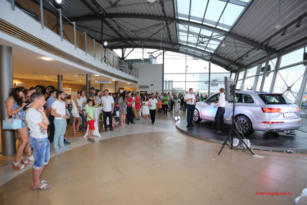 Презентация Audi Q7 2015 в Волгограде Фото 22