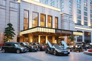 Шанхайский отель добавил BMW i8 2015  Фото 2