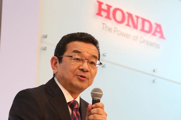 Такахиро Хачиго гендиректор Honda Motors