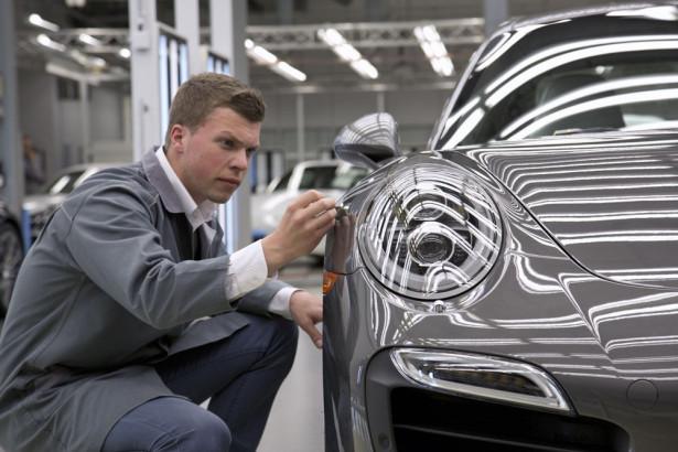 Завод Porsche Фото 06