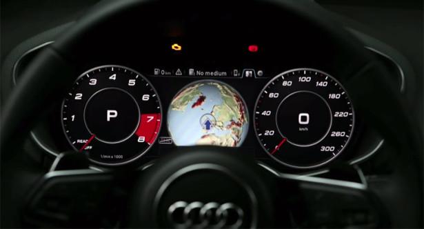 Audi A3 получила цифровой манометр