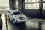 2015 Cadillac Escalade Platinum; Radiant Silver