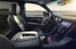 2015 Cadillac Escalade Platinum; Jet Black with Sumi Black Tamo Ash trim