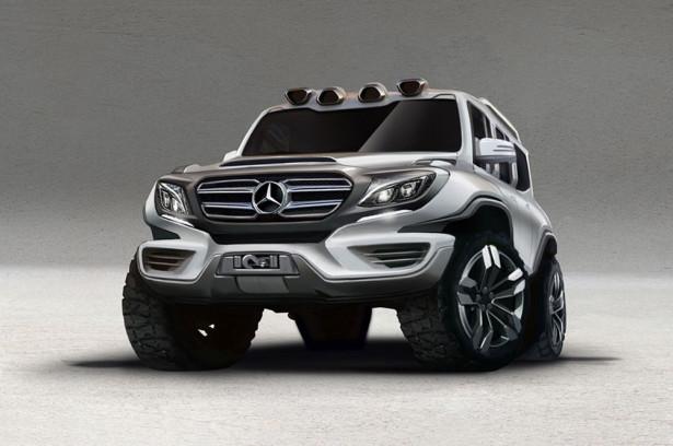 Mercedes G-Class концепт Фото 03