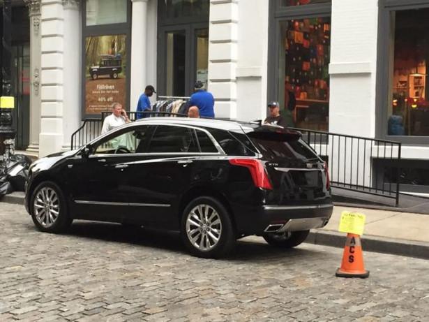 Cadillac XT5 2017 Фото 02