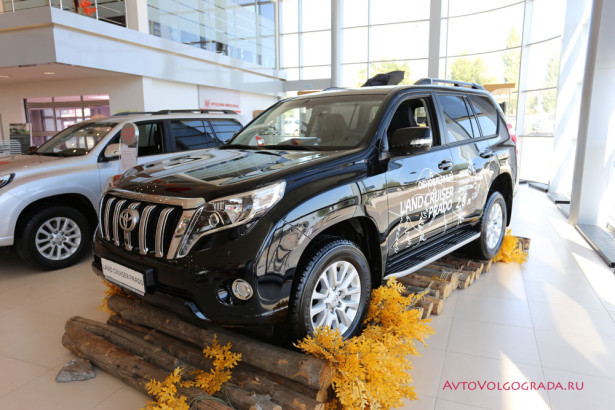 Toyota Hilux 2015 и Land Cruiser Prado Агат Фото 01
