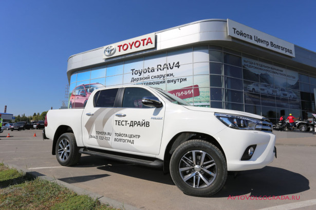 Toyota Hilux 2015 и Land Cruiser Prado Агат Фото 38