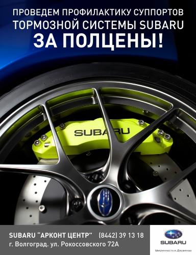 профилактику суппортов на Ваш Subaru
