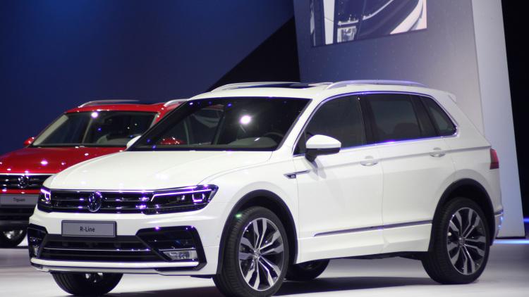 Volkswagen планирует выпускать новый SUV Tiguan в Калуге