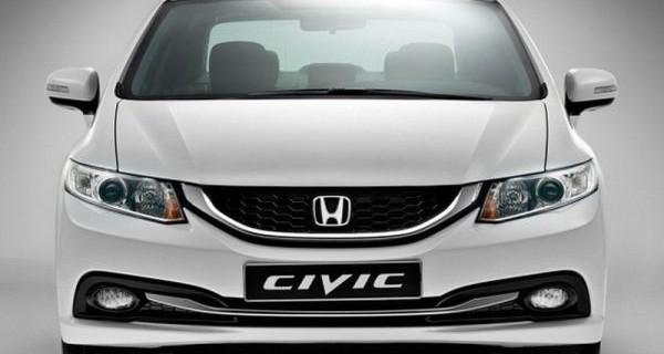 Honda опубликовала официальные цены на модель Civic 2016