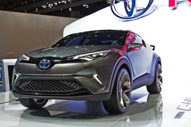 Концепт Toyota C-HR 2015 Фото 22