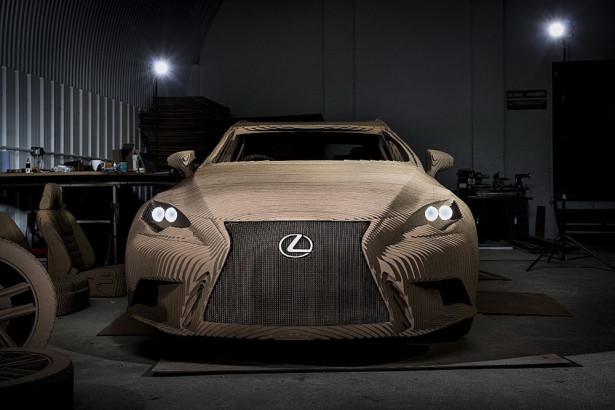 Lexus IS Origami 2015 Фото 11