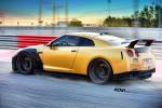 Nissan GT-R в карбоне и золоте 2015 Фото 01