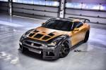 Nissan GT-R в карбоне и золоте 2015 Фото 18