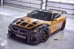 Nissan GT-R в карбоне и золоте 2015 Фото 19