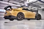 Nissan GT-R в карбоне и золоте 2015 Фото 24
