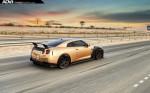 Nissan GT-R в карбоне и золоте 2015 Фото 27