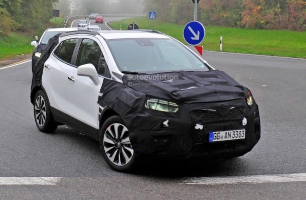 Рестайлинговый Opel Mokka 2017 замечен на тестах 1