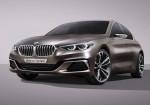 BMW Concept Compact Sedan  2016 Фото 01