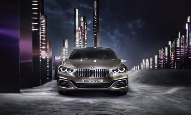 BMW Concept Compact Sedan  2016 Фото 05