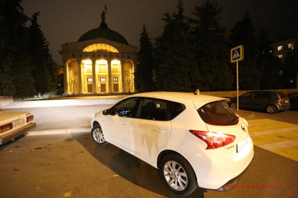 Ночной планетарий в Волгограде