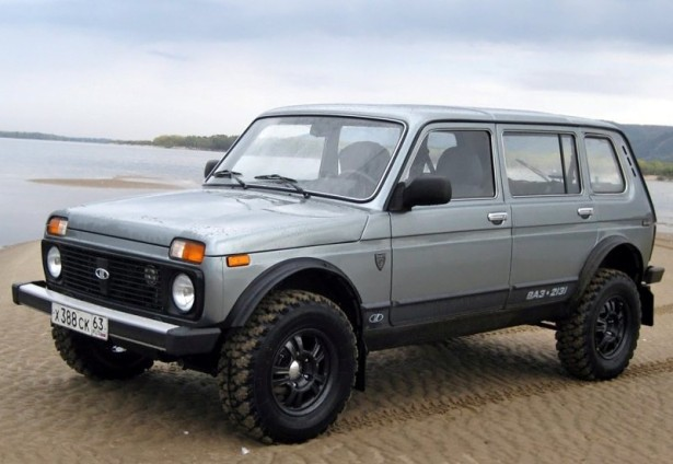Lada 4x4 пятидверная больше не выускается Автовазом