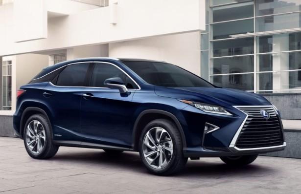 Lexus озвучил рублевые цены на новый RX и начал приём заказов в России