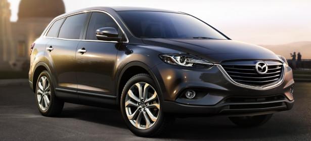Mazda CX-9 2017 модельного года представлена публике