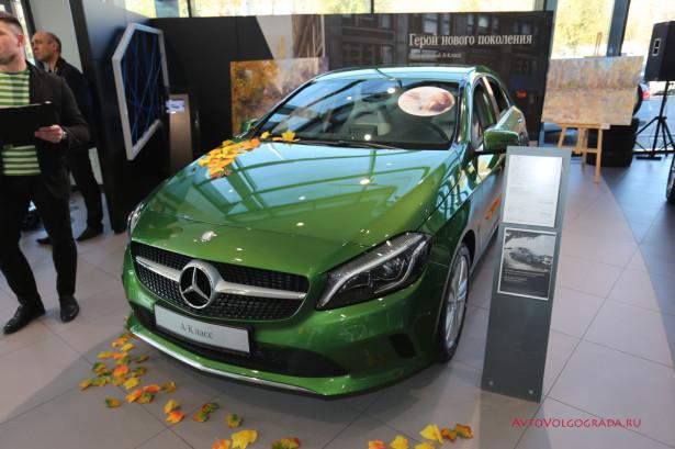 Mercedes А-Класса в Волгограде 2015 Фото 07