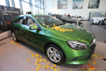 Презентация обновленного Mercedes А-Класса в Волгограде