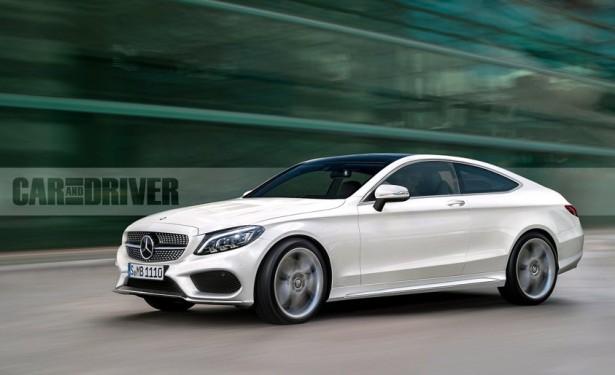 Mercedes-Benz озвучил рублевый ценник на модель С-class Coupe