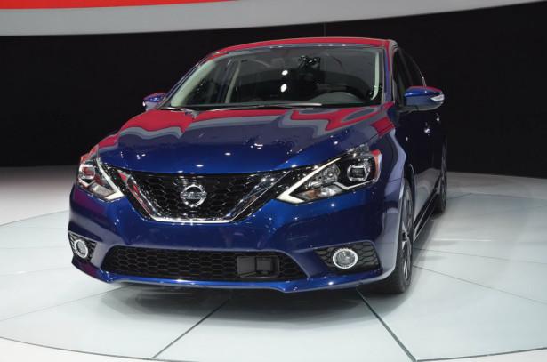 Nissan Sentra 2016 Фото 05