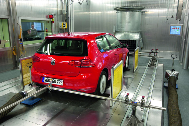 Volkswagen тест выбросов вредных веществ