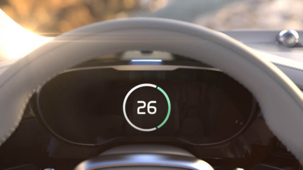 Volvo Time Machine Concept Dashboard Tease