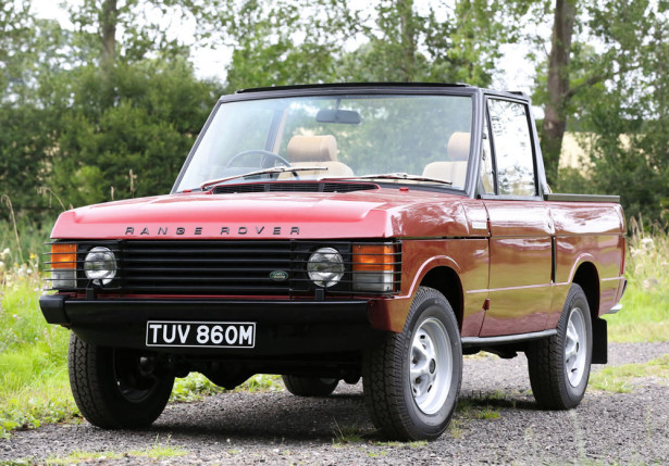 кабриолет Range Rover 1973 Фото 01