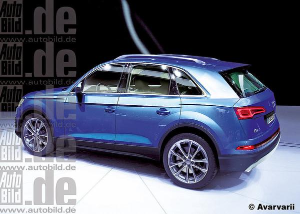Audi показала внешность рестайлингового кроссовера Q5 1
