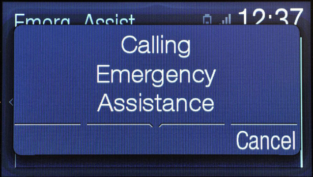 Ford SYNC Emergency Assistance