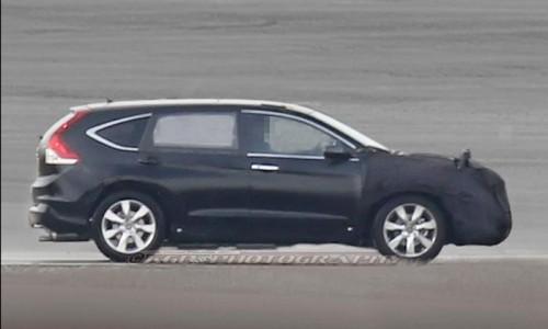Honda проводит испытания новой генерации CR-V
