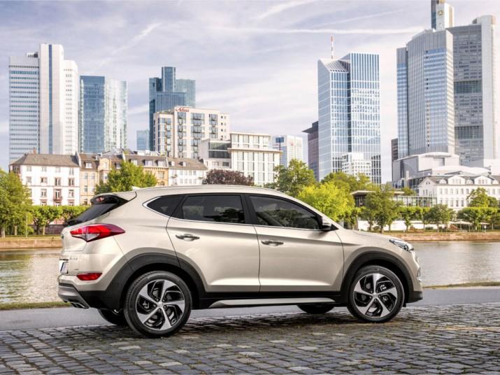 Hyundai Tucson экстерьер