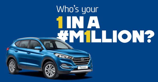 Hyundai продает 1-миллионный Tucson в Великобритании