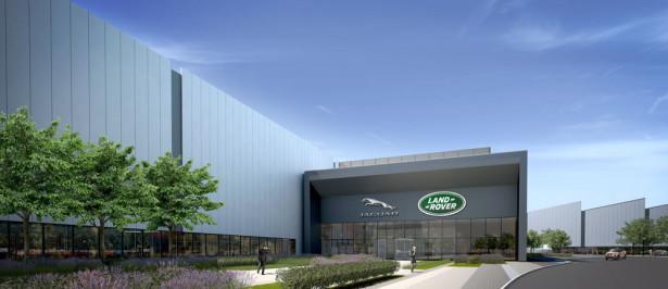 Jaguar Land Rover расширяет завод Фото 02