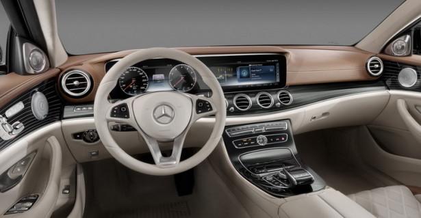 Mercedes-Benz E-Class интерьер