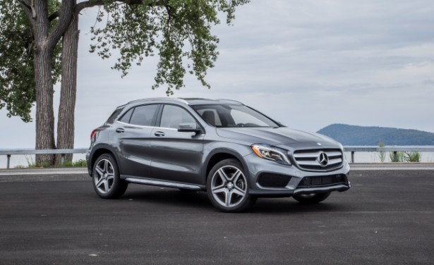 Mercedes-Benz готовит модифицированный GLA к 2016 году