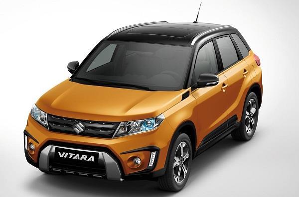 Suzuki представит новый субкомпактный кроссовер Vitara Compact Brezza