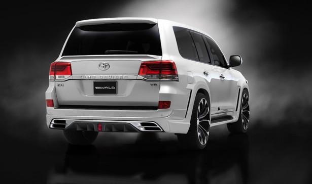 Тюнинг Toyota Land Cruiser 2015 Фото 02