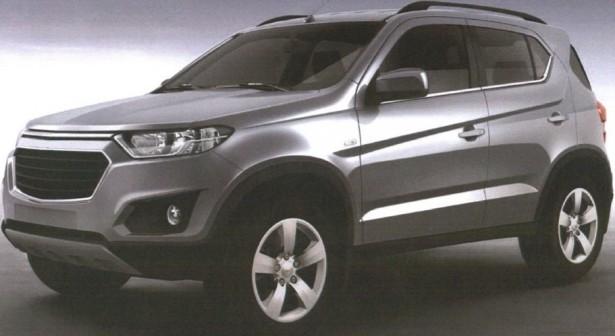 В сети появились официальные изображения нового Chevrolet Niva