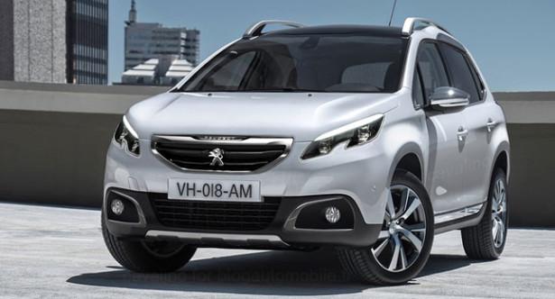 Весной 2016 года появится обновленный кроссовер 2008 от Peugeot