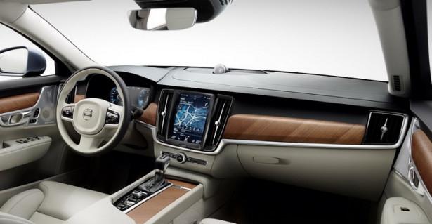 Volvo S90 интерьер